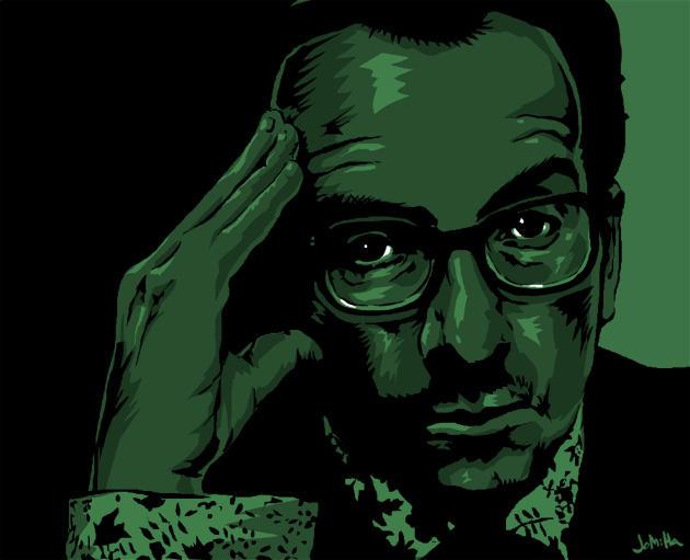 Elvis Costello by jharris