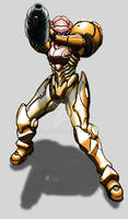 Samus Aran Custom Armor