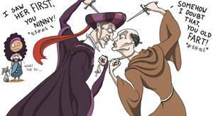 Frollo vs...Frollo?!?!