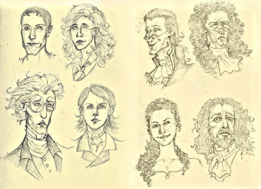 Sketchdump: Musical by AymsterSilver