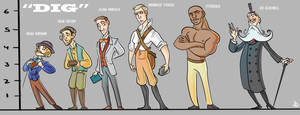 DIG - Character Lineup