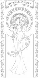 Art Nouveau Widow Lines