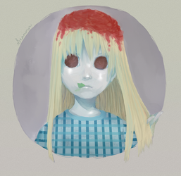 Spaghetti Hair by Seanoin