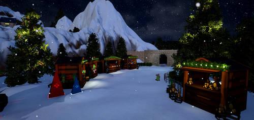 North Pole Market - market view