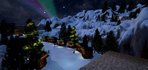 North Pole Market - overview
