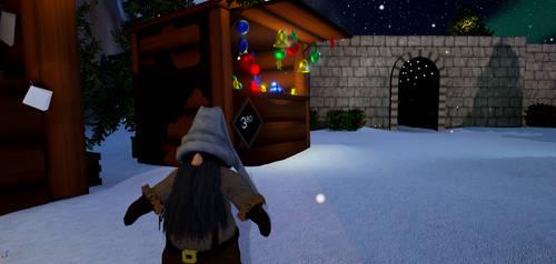 North Pole Market - elf