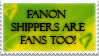 Fanon Shippers by KaDeana