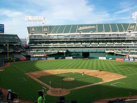 Oakland Athletics Field by DigitalVampire107