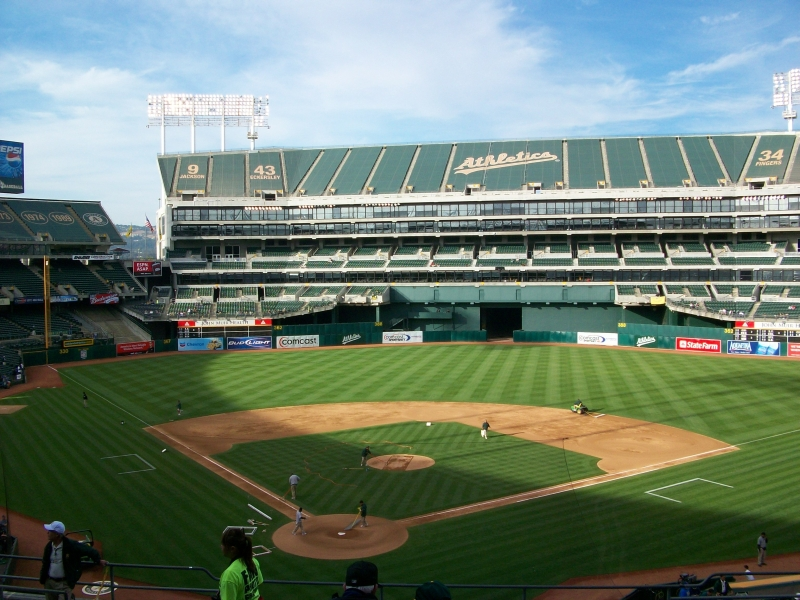 Oakland Athletics Field by DigitalVampire107