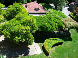 Winchester Mansion - Garden by DigitalVampire107