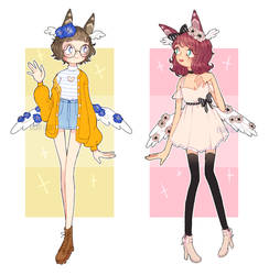 HanaFlora Guest Adopts :CLOSED by eight-legs
