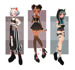 More Goth Girls : CLOSED