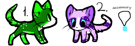 Adoptables ~closed~ by ThatCreativeCat