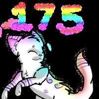 175 Watchers~! by ThatCreativeCat