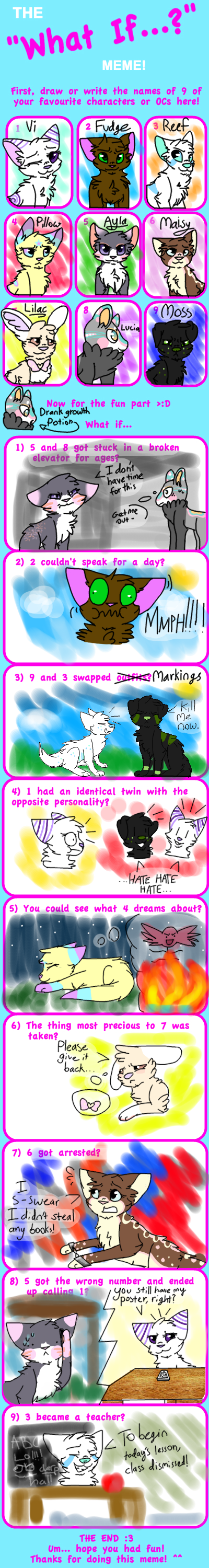 What If Meme by ThatCreativeCat