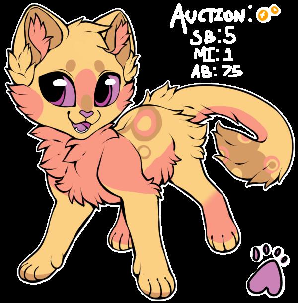 [ADOPT] Strawberry Cheesecake Kitten~! ((CLOSED)) by ThatCreativeCat