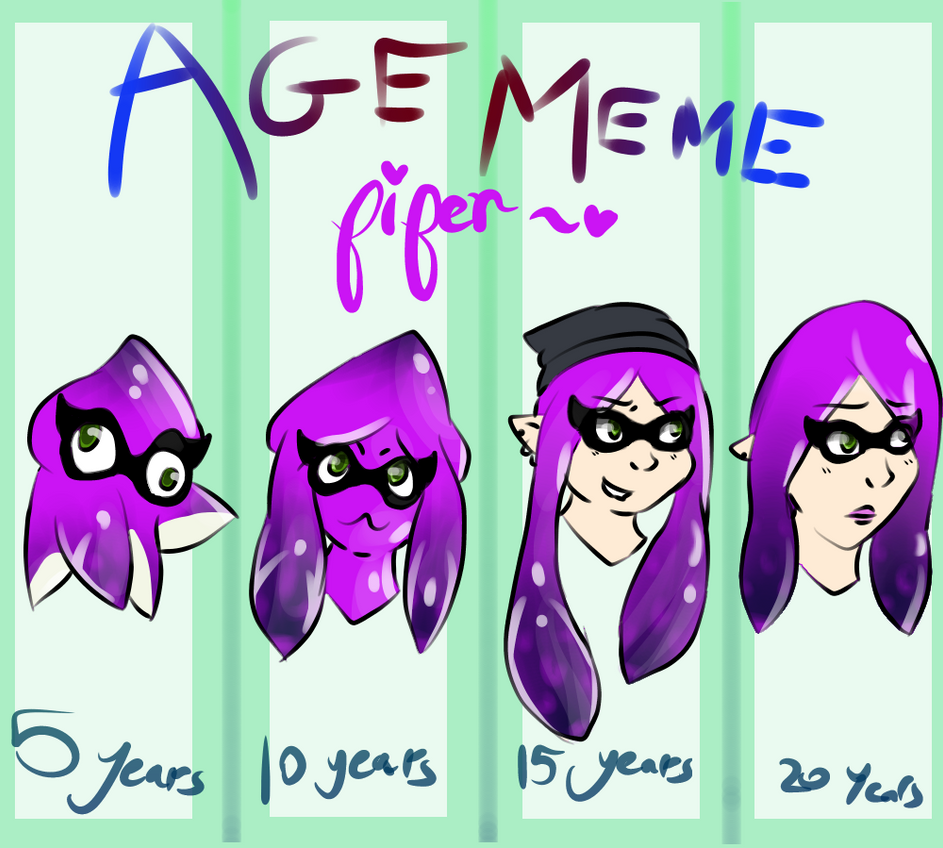Piper Age Meme by ThatCreativeCat