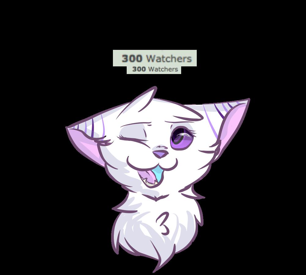 300!! AAAA by ThatCreativeCat