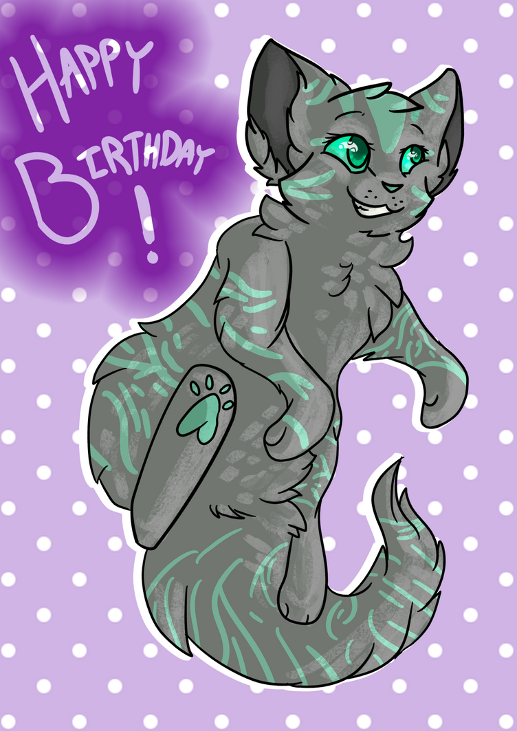 HAPPITY BUBBLE BIRTDAE by ThatCreativeCat