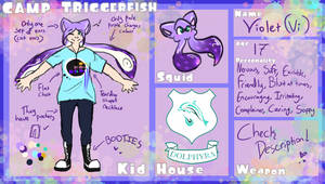 Camp Triggerfish || Vi Ref by ThatCreativeCat