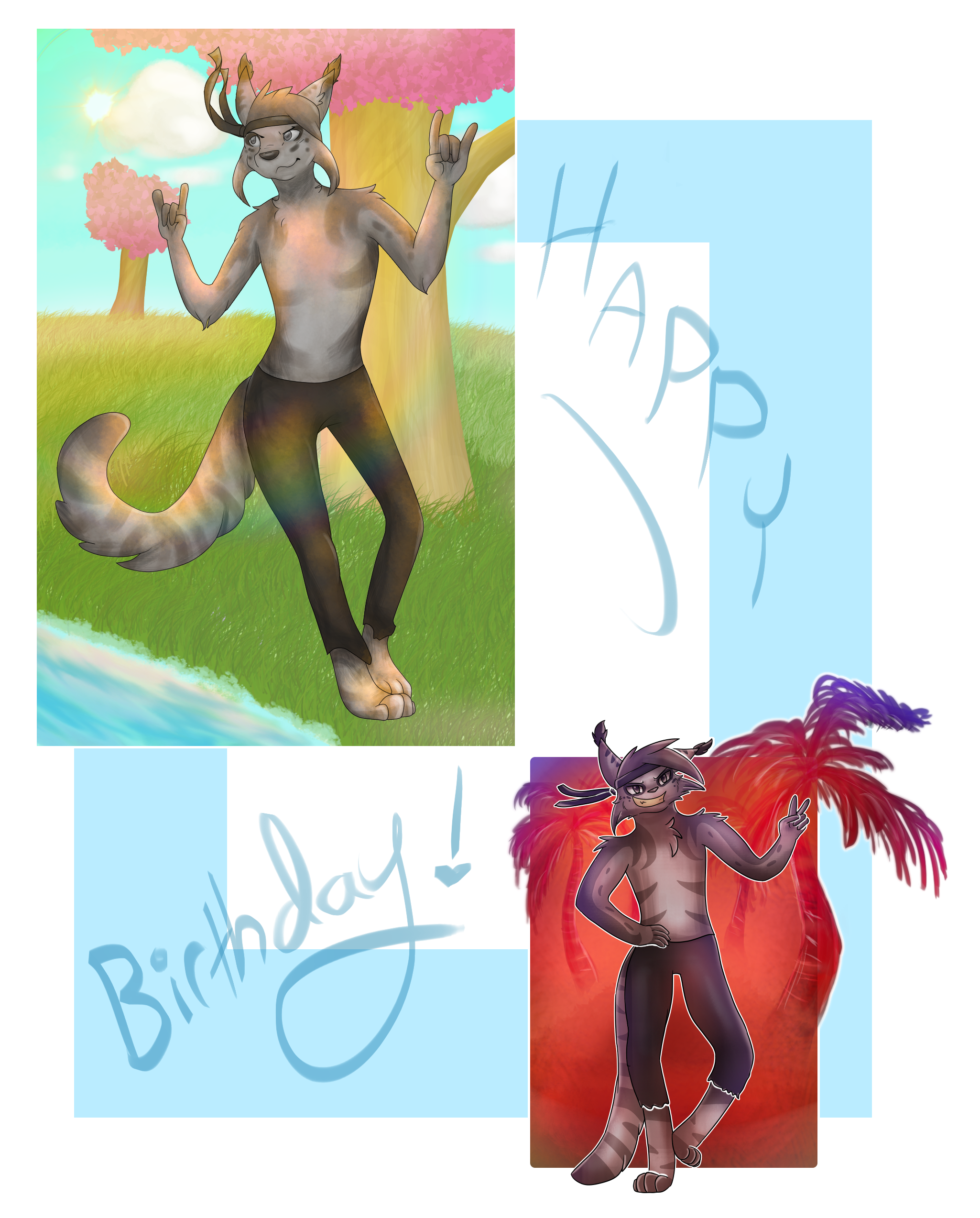 Birthday Teo!  by ThatCreativeCat