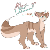 alex ref by ThatCreativeCat