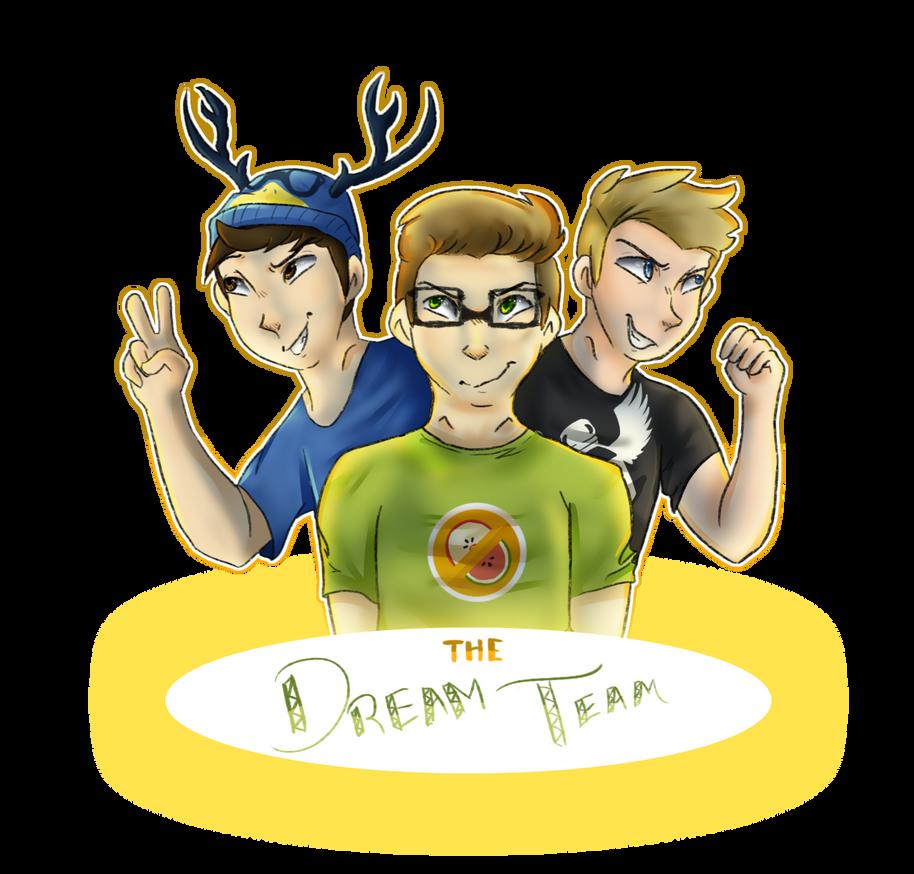the dream team by ThatCreativeCat