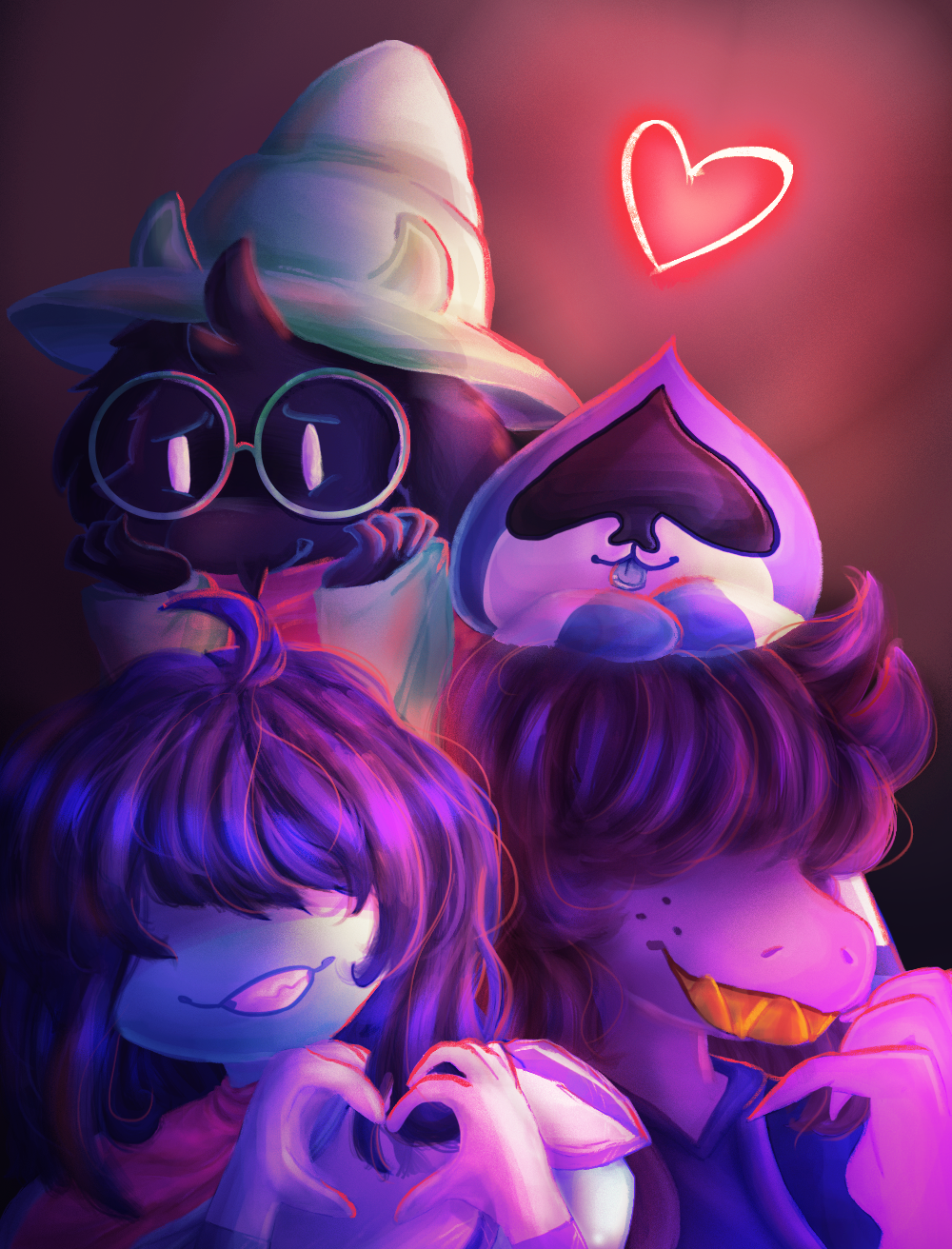 deltarune + speedpaint by ThatCreativeCat