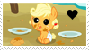 Baby Applejack Fan by MLJstampz