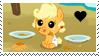 Baby Applejack Fan by MLJstampz