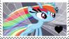Breezie Rainbow Dash Fan by MLJstampz