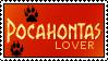 Pocahontas stamp