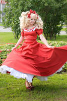 Candy-Candy in red by Lilian-hime