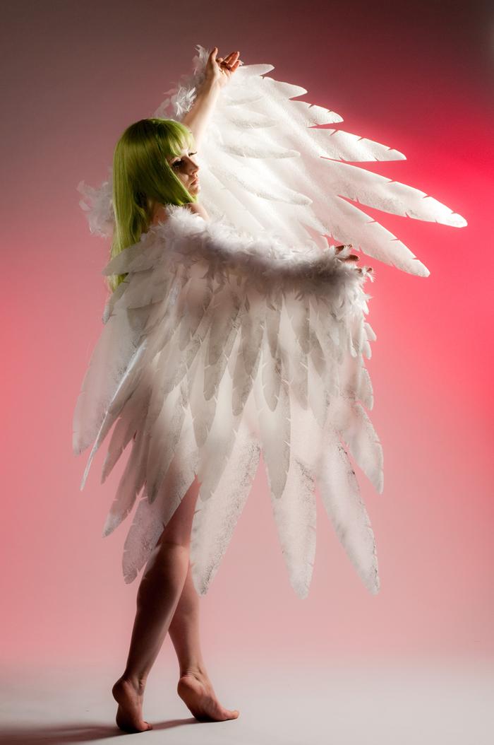 Как сделать крылья ангела из изолона