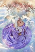 snow unicorn by Lilian-hime
