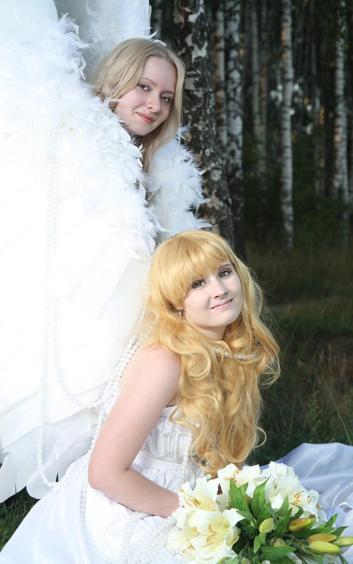 kotori angel 3 by Lilian-hime