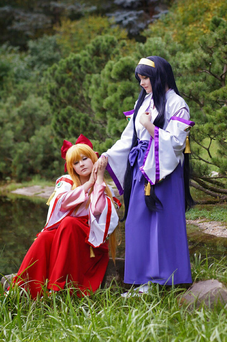 Himeko and Chikane by Lilian-hime