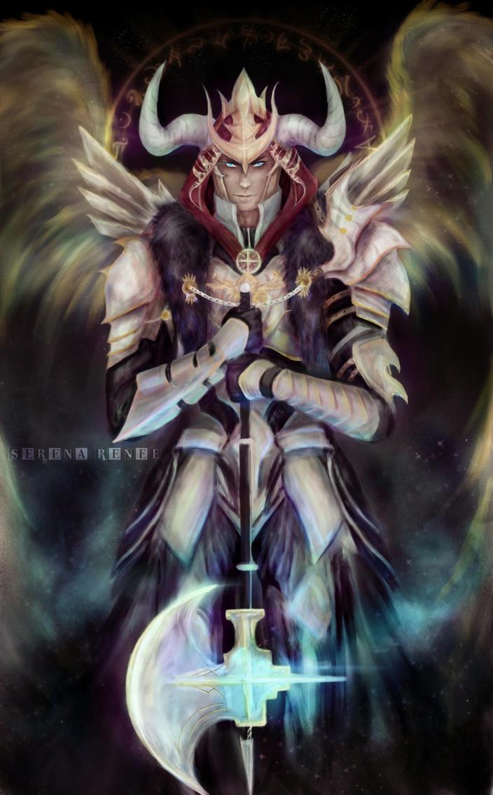 OC: Alexander Asmaroth [Dark Angel] by xXSerena-CrosseXx