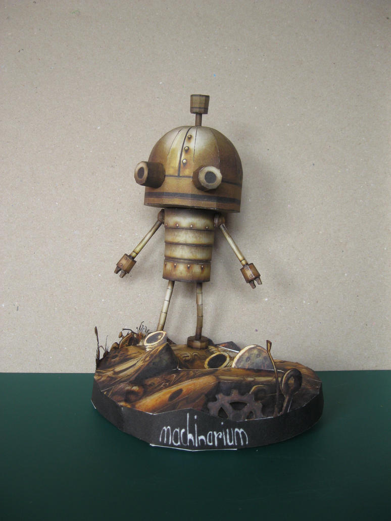 Josef the Robot - Machinarium by Rubenandres77