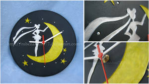 Sailor Moon wall clock (ver. 2)