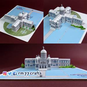 Moon Castle - paper model (V. 2)
