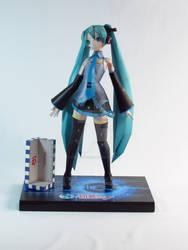 Hatsune Miku paper model