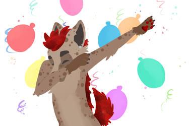 Birthday dab