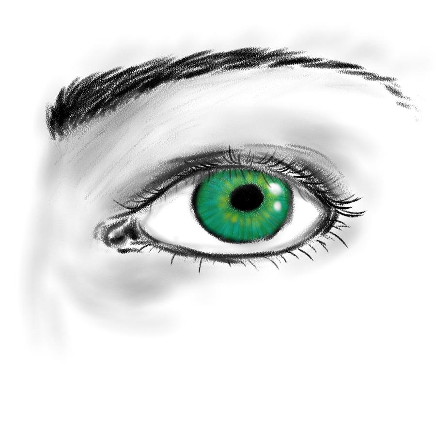 Random Eye by ObsidianThorn