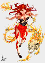 Dragon Elf by PixyStix92