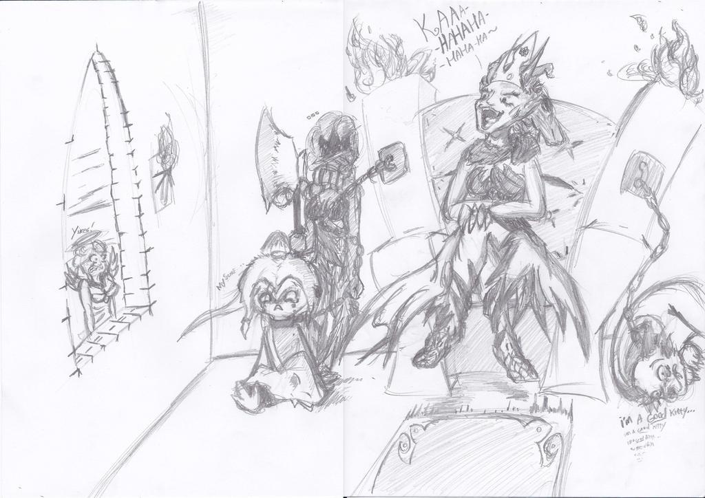 The tyrant queen Nestrae by Meta-josh