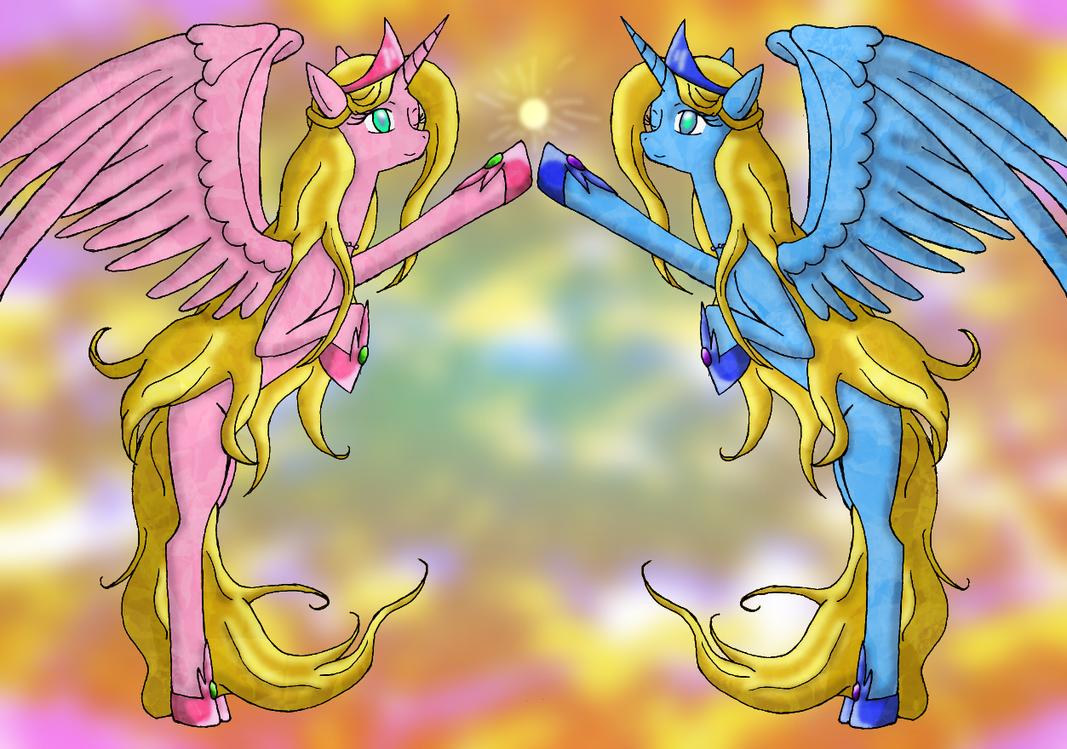 Princesses Sweet Rhyme and Pure Reason by PhantomSaintKurai