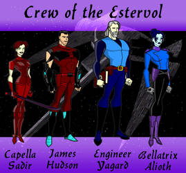 Crew of the Estervol by Jagent-7