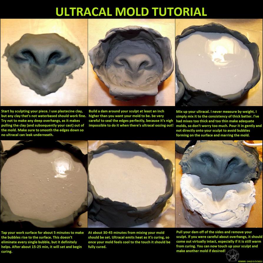 Ultracal mold tutorial by fenrirschild
