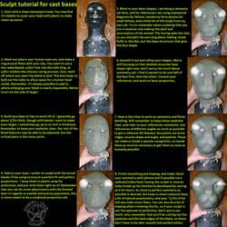 Sculpt tutorial for cast bases